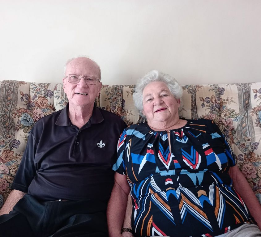 Charles and Yvonne Kennedy