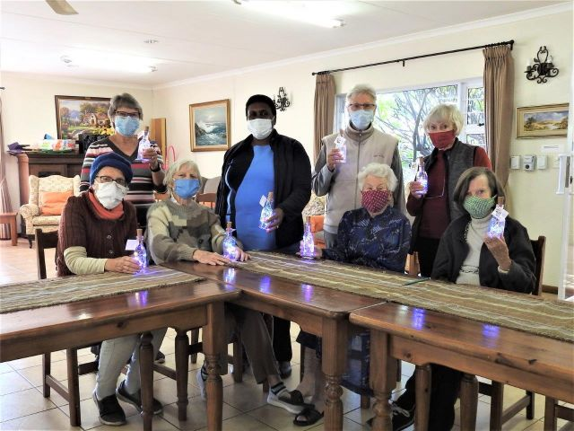 Thornhill walking group gets creative