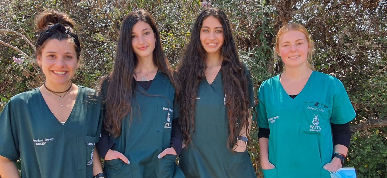 OT-students-Dalya-Abadi-Batya-Naparstek-Ari-Jacks-and-Rebecca-Aitken